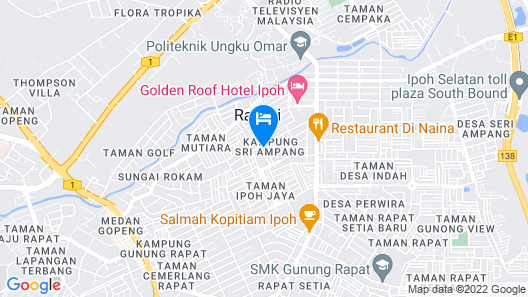 Awanastay Ipoh Map