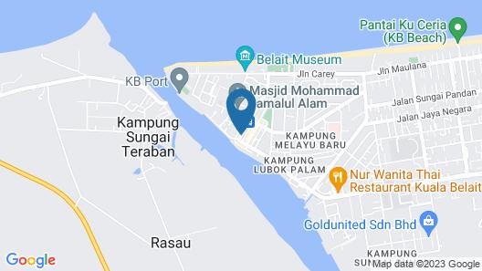 Keoja Hotel Map