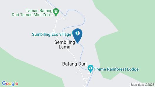 Sumbiling Eco Village Map