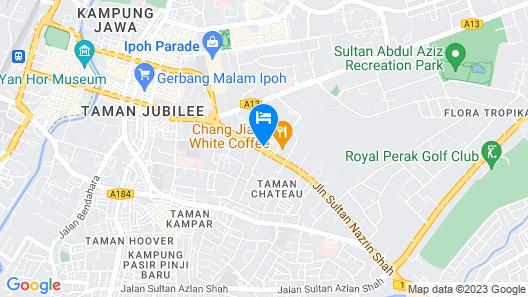 Impiana Hotel Ipoh Map