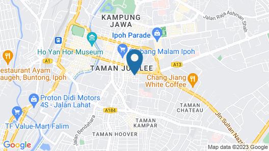 MÙ Hotel Map