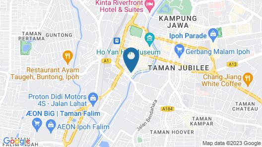 BBBS Loft - Hostel Map