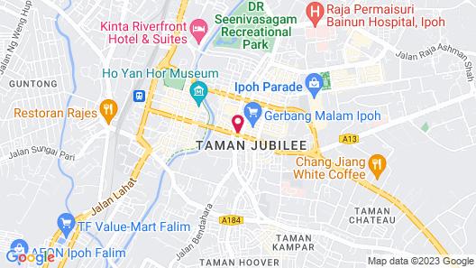 Vloft Backpackers Hostel Map