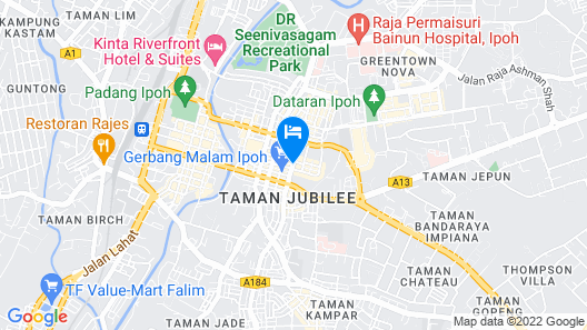 Ipoh Octagon Homestay Map