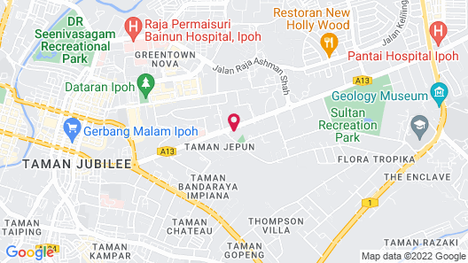 Travelodge Ipoh Map