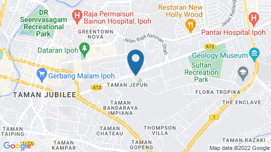 Travelodge Ipoh Map