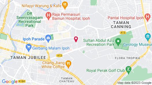 Ipoh Bali Hotel Map