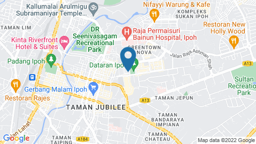 Syuen Hotel Ipoh Map