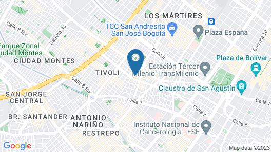 Hostel Boutique Casa Sofia Map