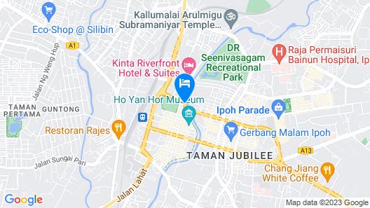Cititel Express Ipoh Map