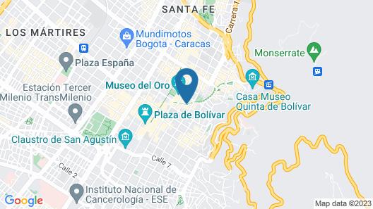 Hotel Avenida Jimenez Map