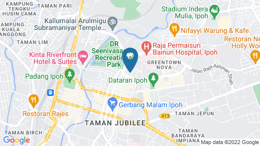 Regalodge Hotel Map