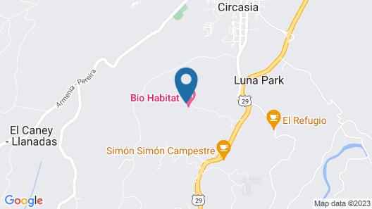 Bio Habitat Hotel Map