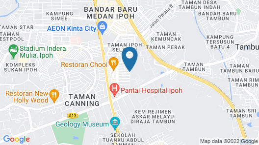 Ipoh Senses Map