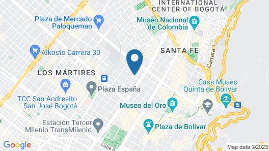 Bacata Map