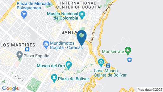 Hotel Grand Park Map