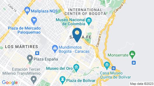 Hotel San Francisco Map