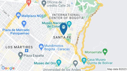 GHL Hotel Tequendama Bogotá Map