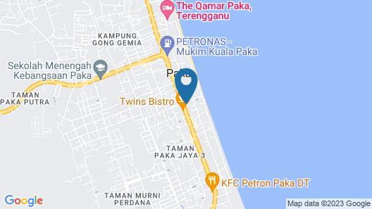 OYO 90045 Dalyla Inn Hotel Map