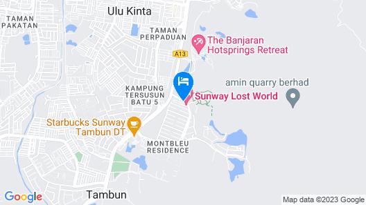 Sunway Lost World Hotel Map
