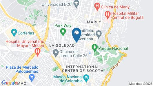 Casa Cubil Map