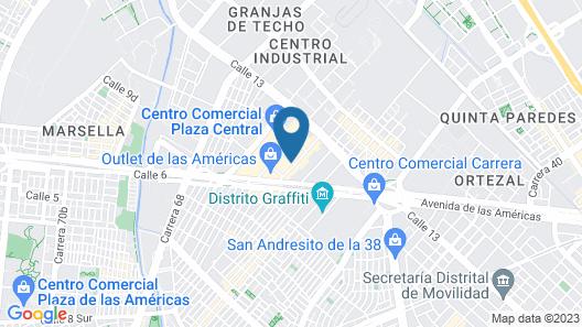 Selina Shared La Candelaria Map