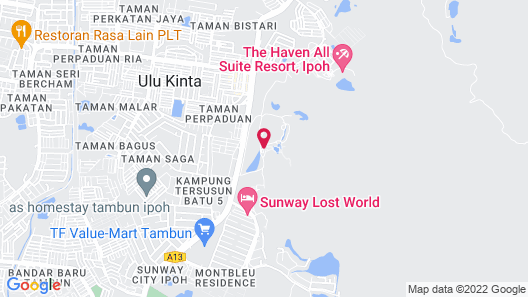The Banjaran Hotsprings Retreat Map