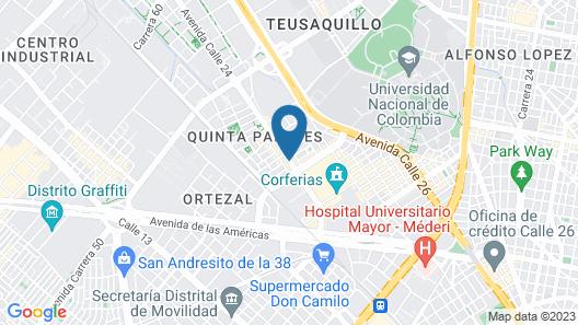 Hyatt Place Bogota/Convention Center Map