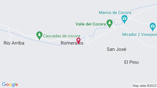 Refugios Nidos del Condor -Cocora- Map