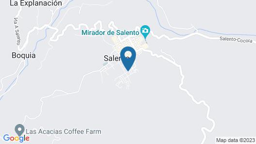 Viajero Salento Hostel Map