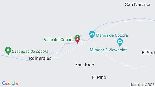 Finca Los Arboles Map