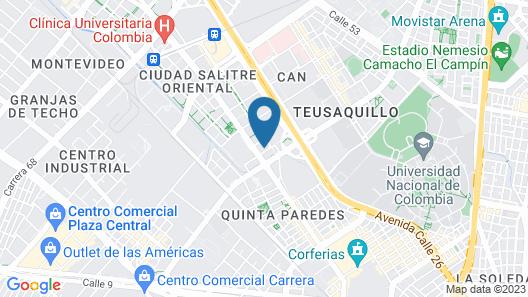 TRYP by Wyndham Bogotá Embajada Map