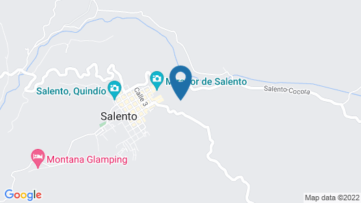 Hotel Kawa Mountain Retreat Map