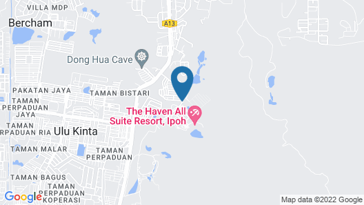The Haven All Suite Resort, Ipoh Map