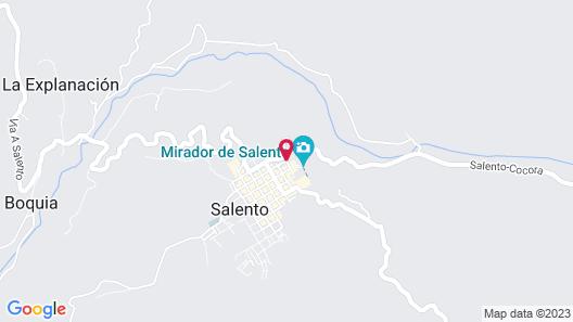 Hotel El Mirador del Cocora Map
