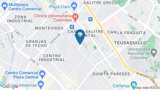 DoubleTree by Hilton Bogota Salitre AR Map