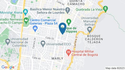 Hotel Living 55 Map