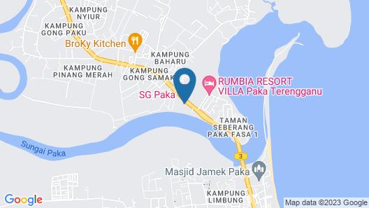 Sg Paka Hotel Map