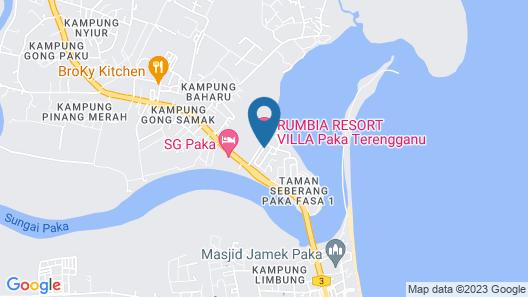 Rumbia Resort Villa Paka Map