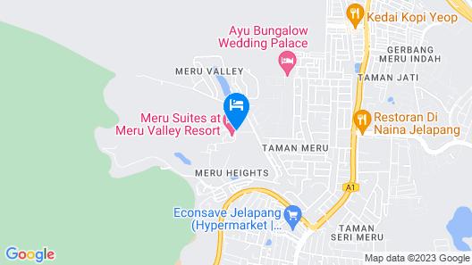 Meru Suites at Meru Valley Resort Map