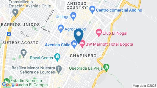 Celebrities Suites Map