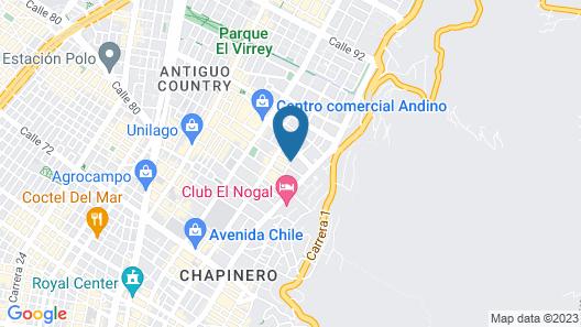 Hotel CityFlats Map