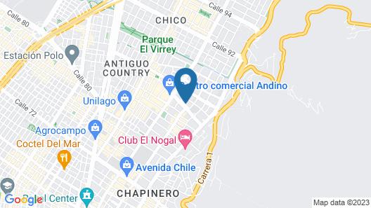Hotel Cabrera Imperial Map