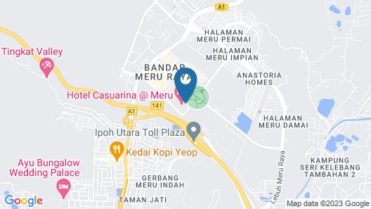Casuarina @ Meru Map