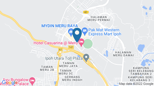 Cute Hotel & Dorms Ipoh - Hostel Map