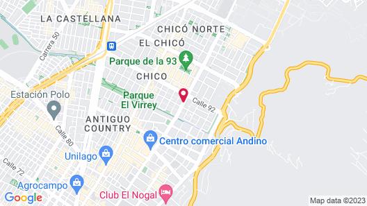 EK Hotel Map