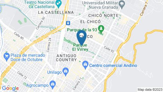 Cite Hotel Map
