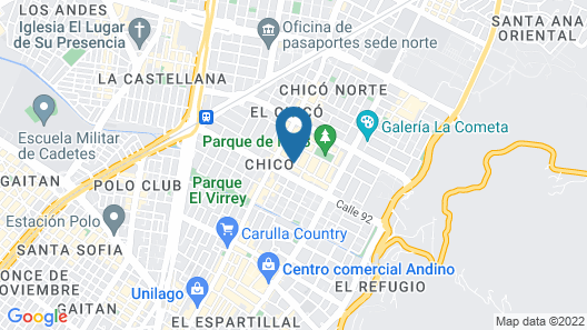 Best Western Plus 93 Park Hotel Map