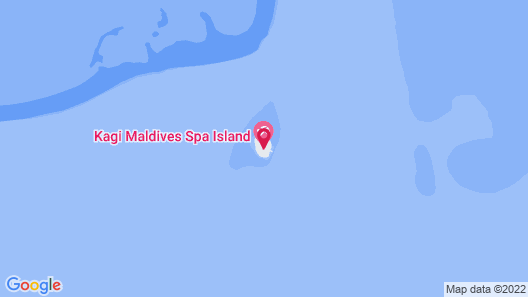 Kagi Maldives Spa Island Map
