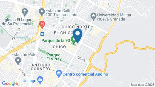 Soy Local Parque La 93 Map